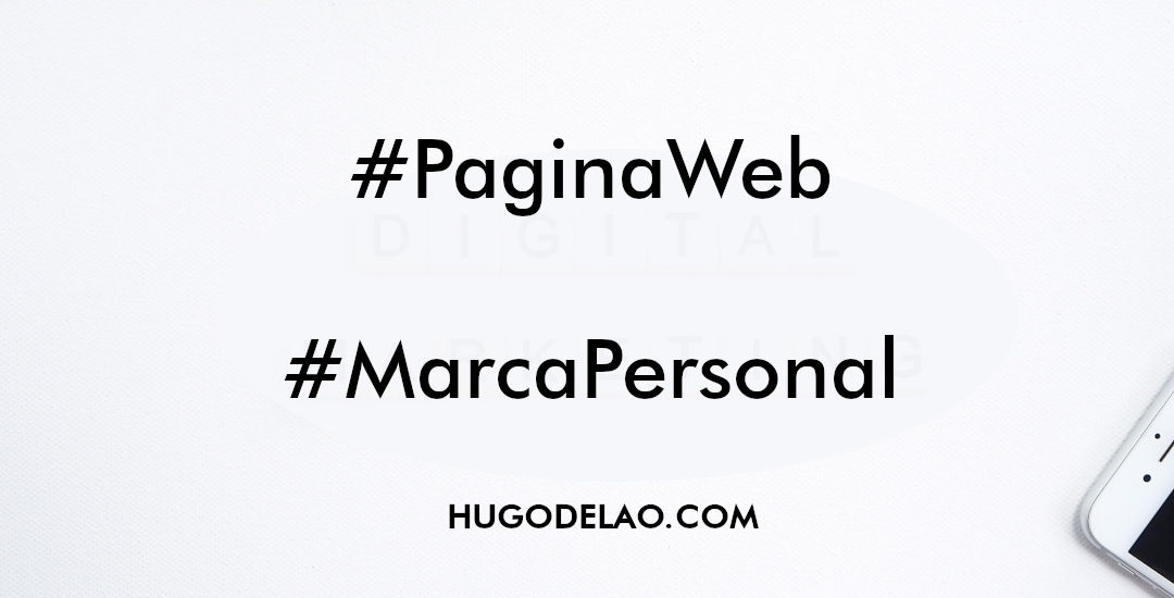 Guía para hacer tu propia página web con tu marca personal a bajo costo