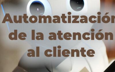 Yo creo que la automatización de la atención al cliente funciona ¿y tu?